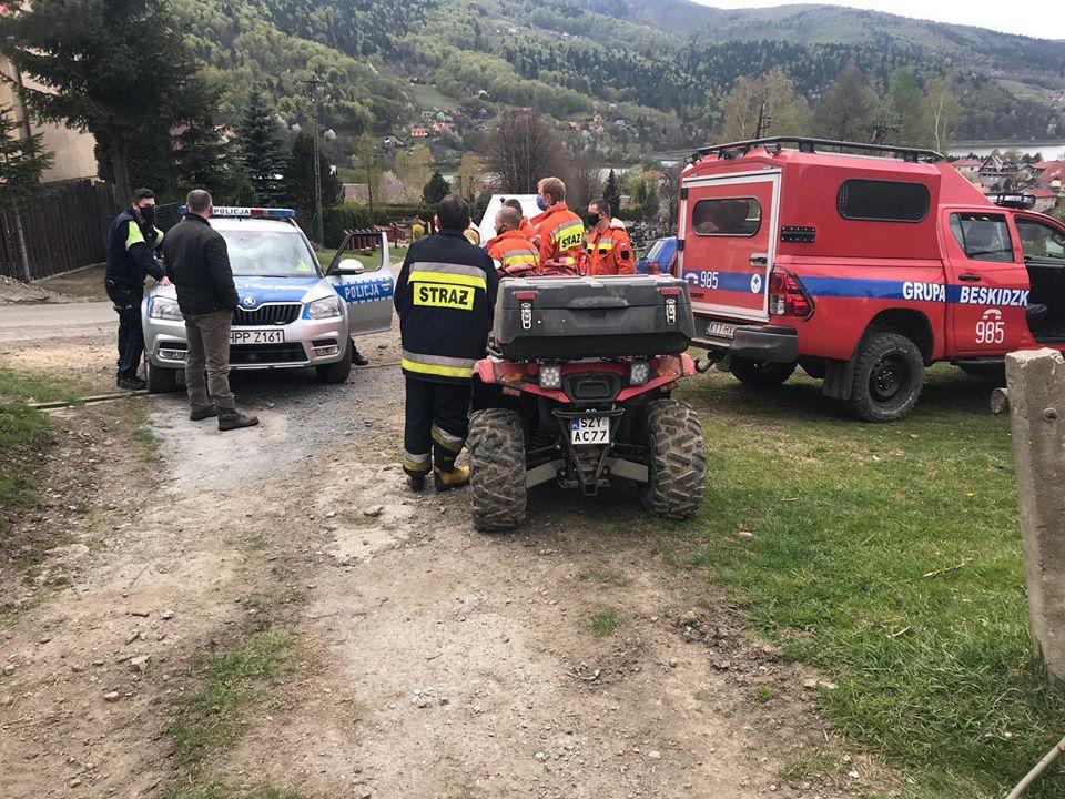 Coraz więcej akcji ratowniczych w górach, poszukiwania paralotniarza