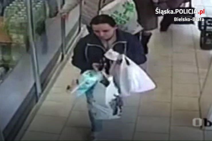 Poszukiwania kobiety podejrzewanej o kradzież w Lidlu
