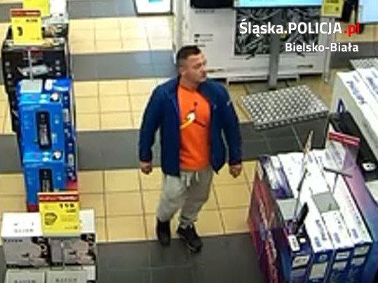 Sprawca kradzieży poszukiwany przez policję