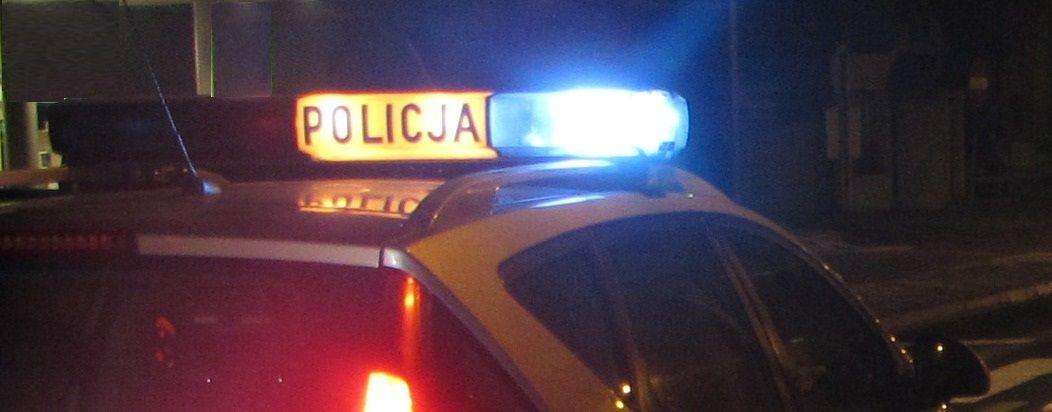 Sprawca kolizji szybko namierzony przez policjantów
