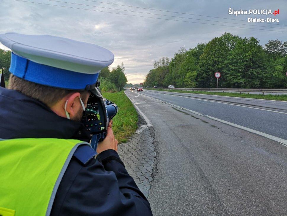Bielska policja podsumowała majówkę na drogach