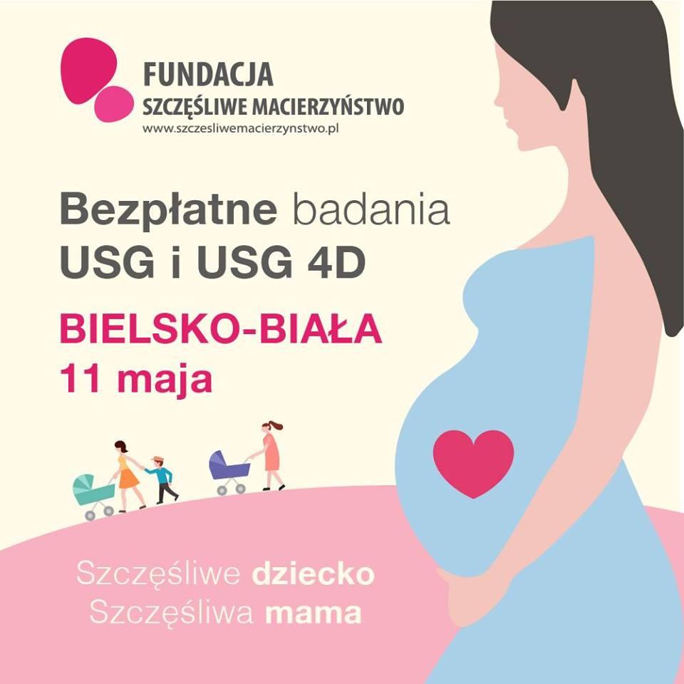 Bezpłatne konsultacje i badania USG i USG 4D. Akcja 'Szczęśliwe dziecko, Szczęśliwa mama 2019'