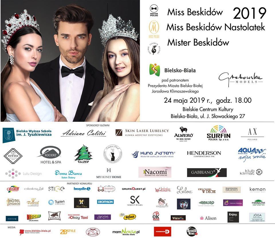 Kandydatki do tytułu Miss Beskidów 2019 i Miss Beskidów Nastolatek 2019 [FOTO]