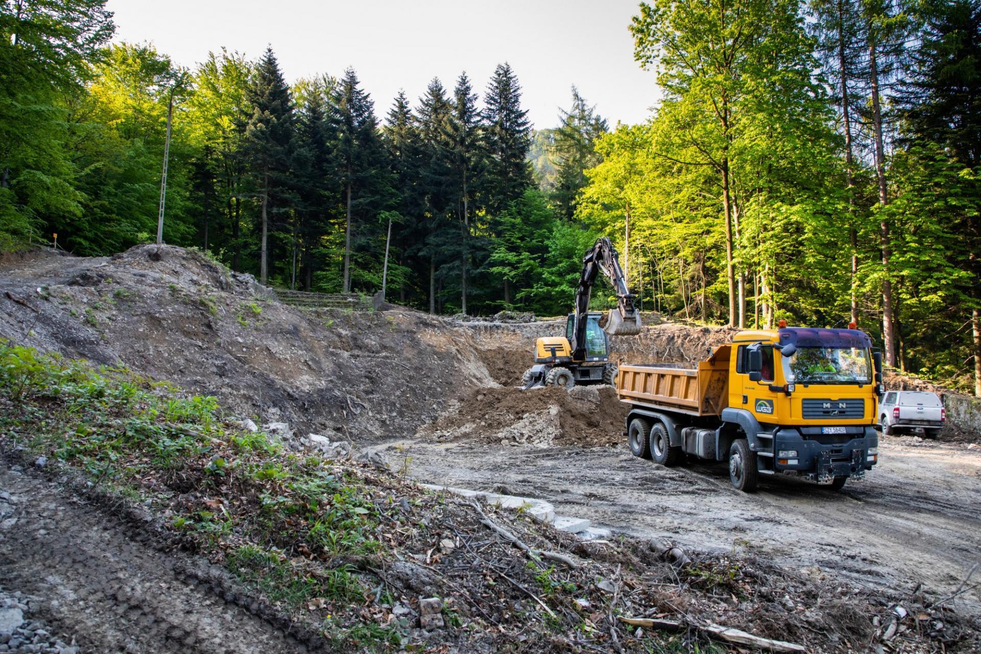 Ruszyła rekonstrukcja amfiteatru w Lipniku