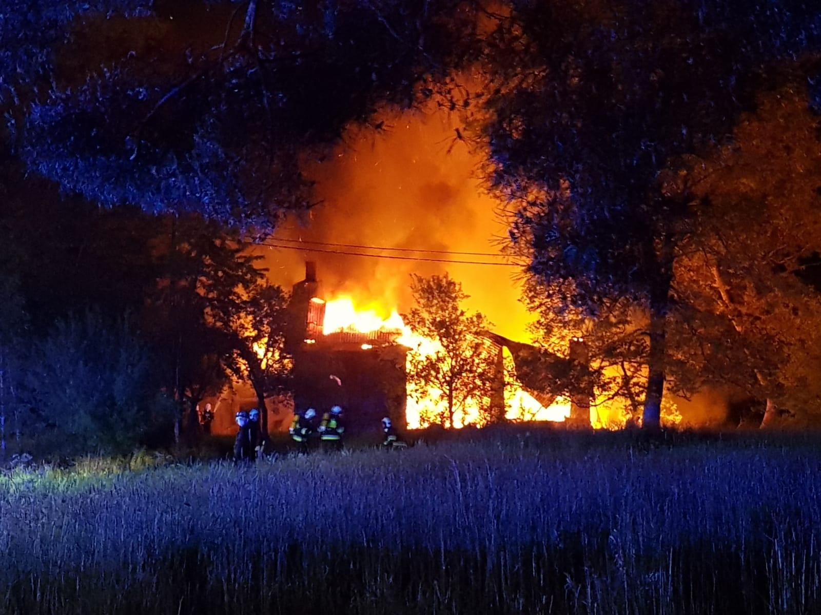 Ogromny pożar w Bielsku-Białej
