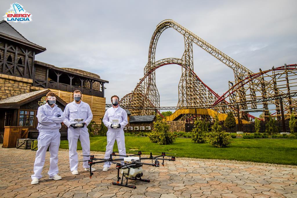 Największy Park Rozrywki w Polsce - Energylandia w Zatorze - ponownie otwarty zostanie 6 czerwca