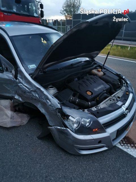 Groźny wypadek na S-1