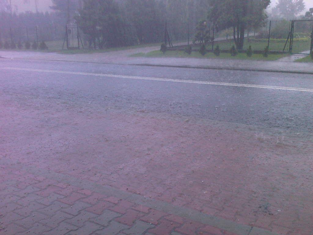 Synoptycy ostrzegają: intensywne opady deszczu!
