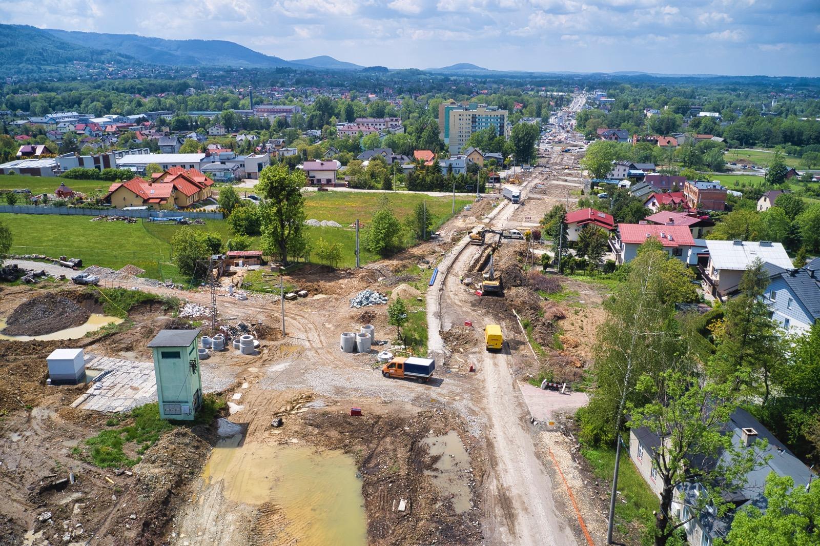 Kolejne zmiany na remontowanej ulicy Cieszyńskiej