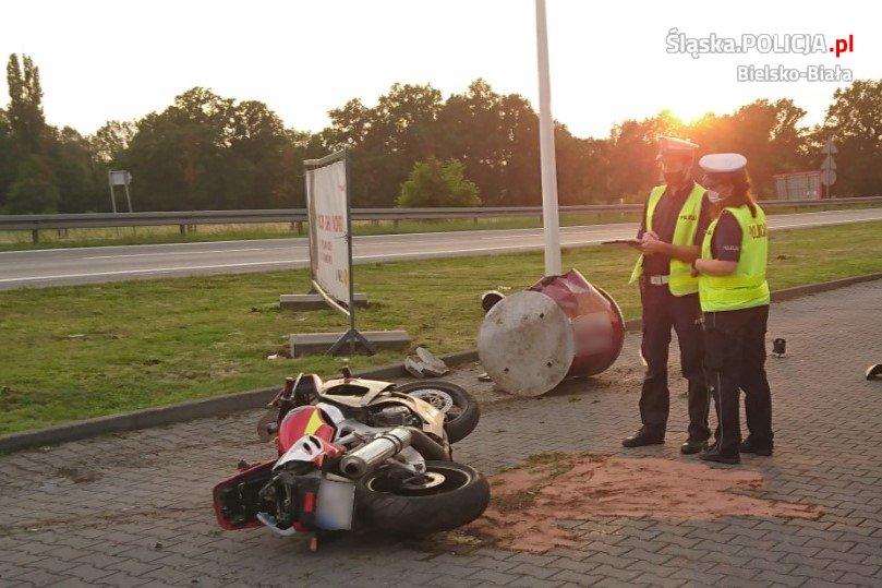 Dramatyczny pościg za motocyklistą [FOTO]