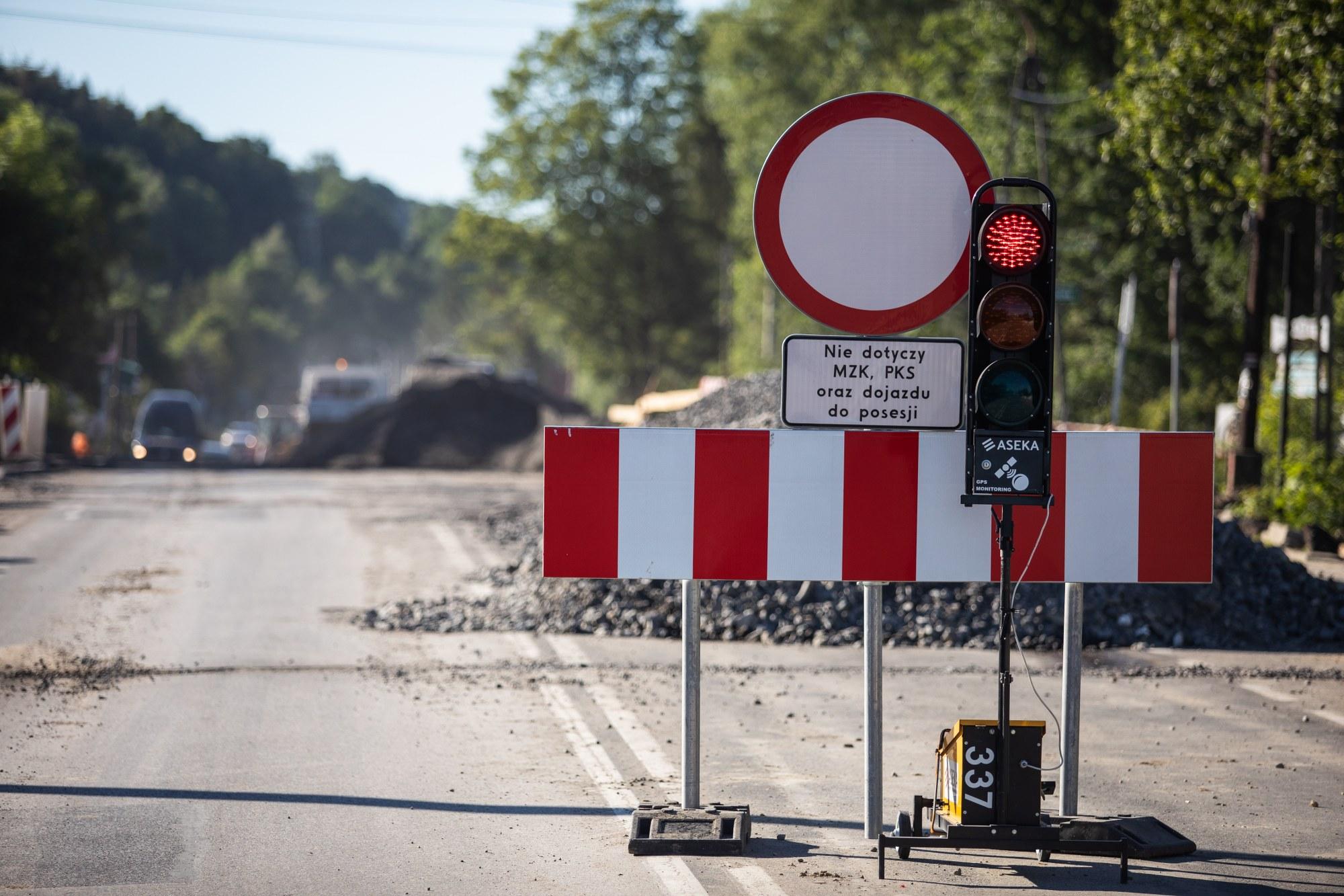 Ostatni etap remontu ulicy Żywieckiej, utrudnienia dla kierowców