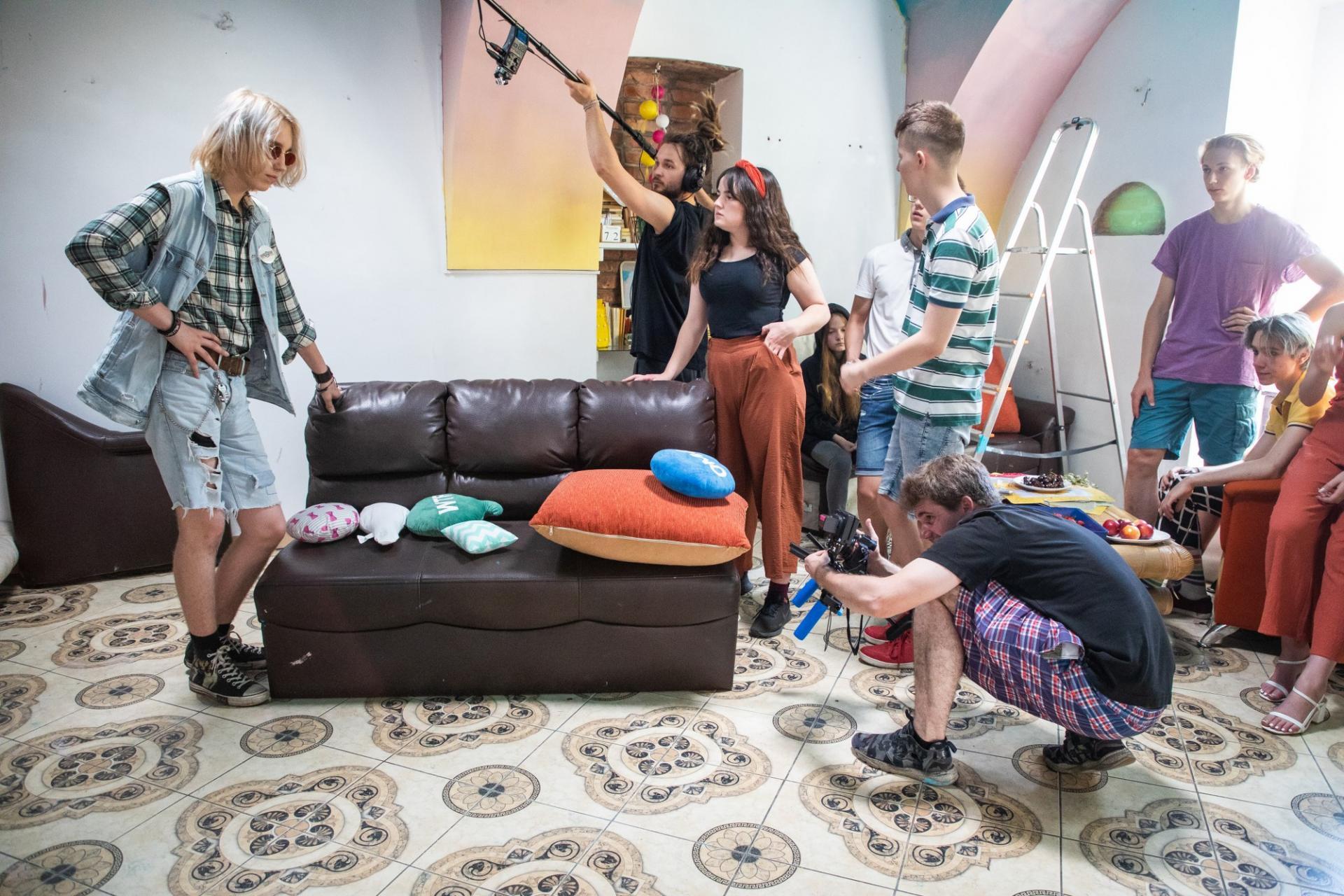 W Bielsku-Białej powstaje serial dla nastolatków