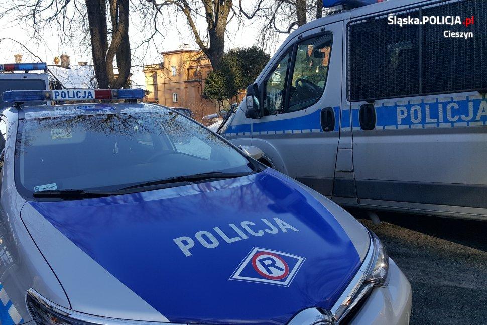 Pijany Ukrainiec skasował kilka aut w Bielsku-Białej