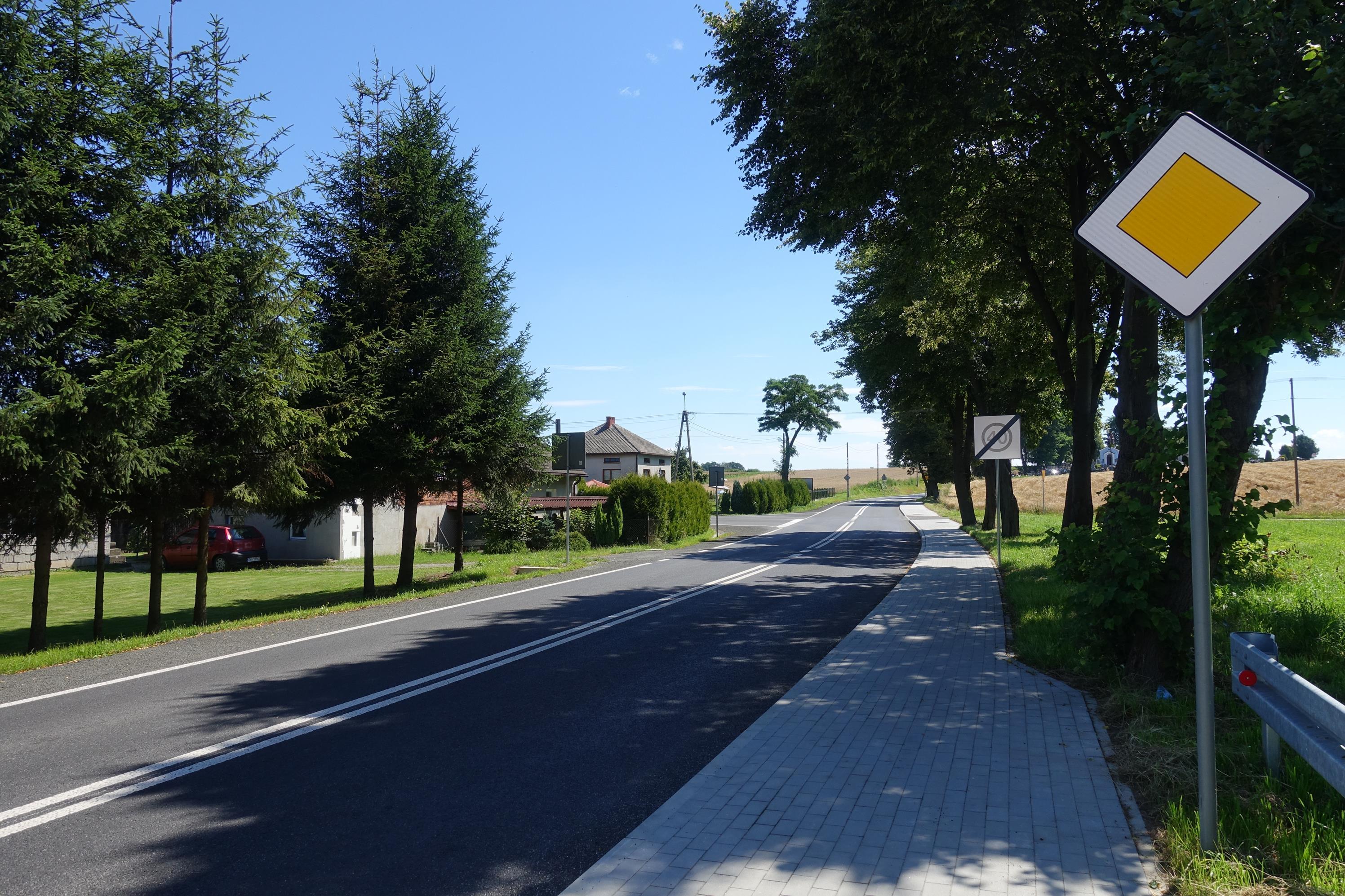 Zakończono remont drogi prowadzącej od Hecznarowic do Kęt