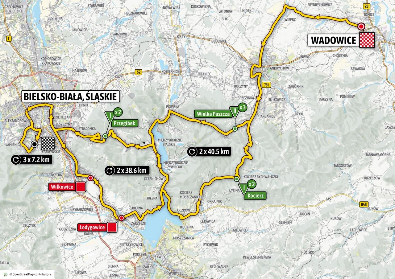 W piątek Tour de Pologne z metą w Bielsku-Białej
