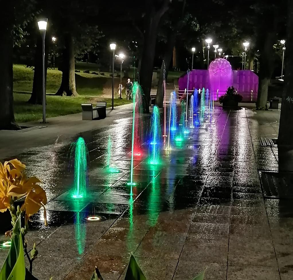 Bielskie fontanny znowu działają!