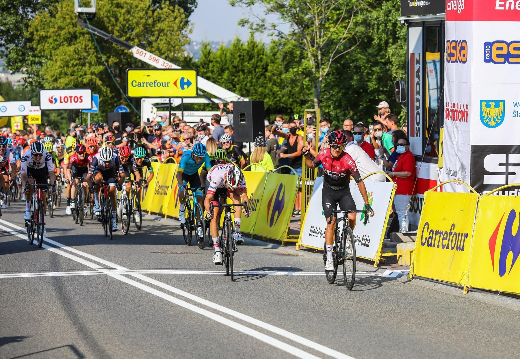 Tour de Pologne po raz kolejny przejechał bielskimi ulicami