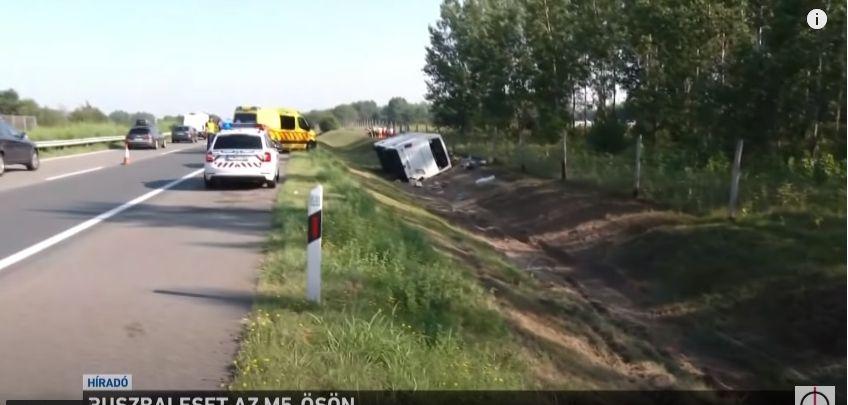 Wypadek autokaru na Węgrzech. Wyjazd organizowało biuro podróży z Bielska-Białej