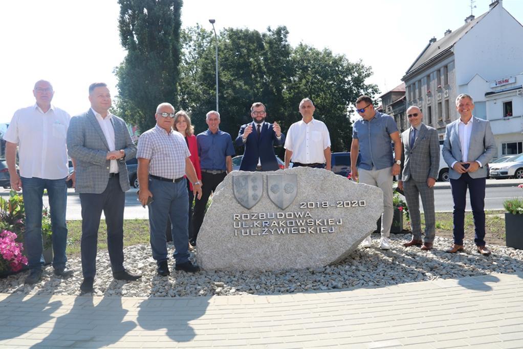 Rozbudowa ulic Krakowskiej i Żywieckiej oficjalnie zakończona