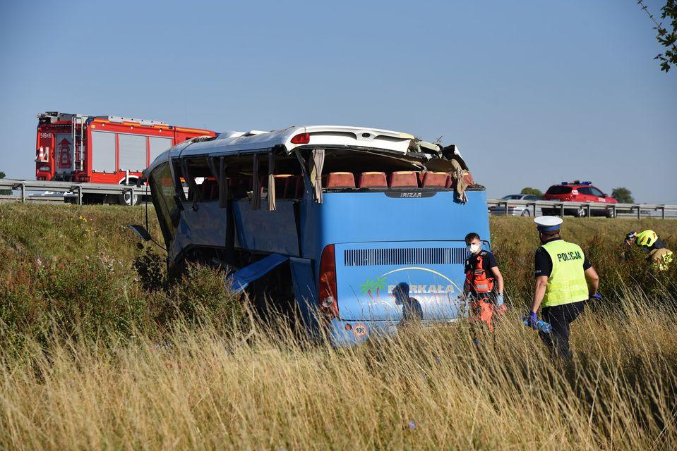 Wypadek autokaru z dziećmi z Żabnicy, zarzuty dla kierowcy