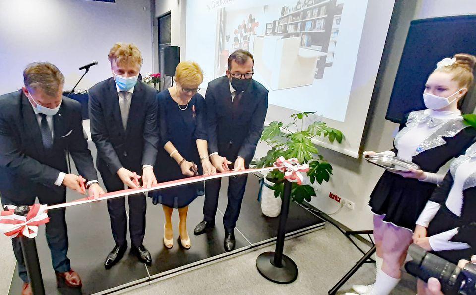 Nowa biblioteka w Czechowicach-Dziedzicach