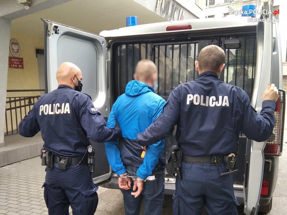 Zarzymani sprawcy rozboju w Bielsku-Białej