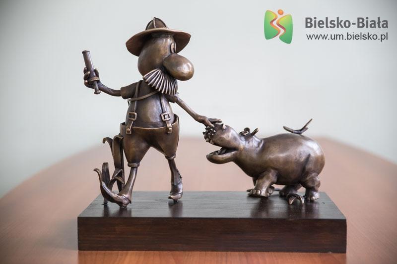 Taka rzeźba stanie w Bielsku-Białej