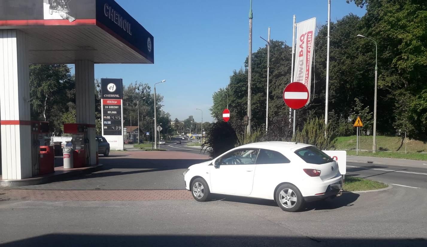 Młody kierowca potrącił nastolatka