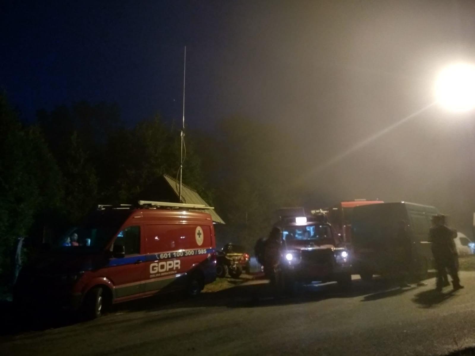Blisko 50 ratowników szukało zaginionego grzybiarza
