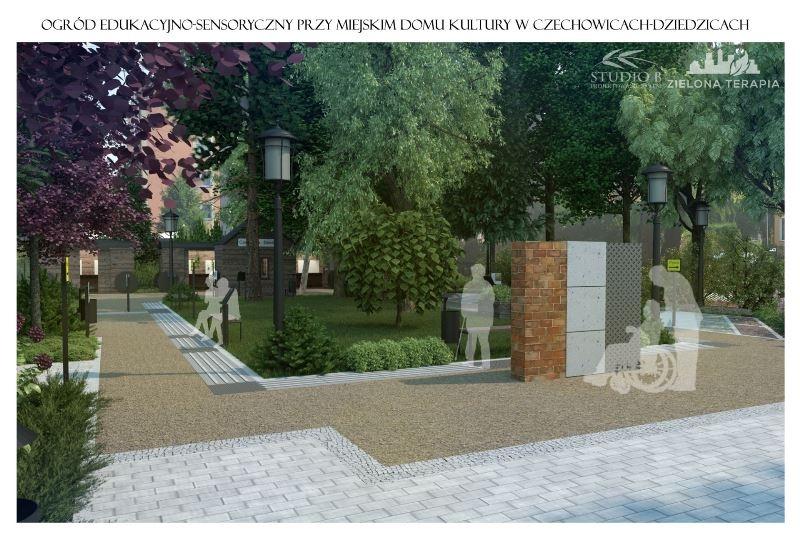 To będzie ogród nawiązujący do tradycji przemysłowych miasta