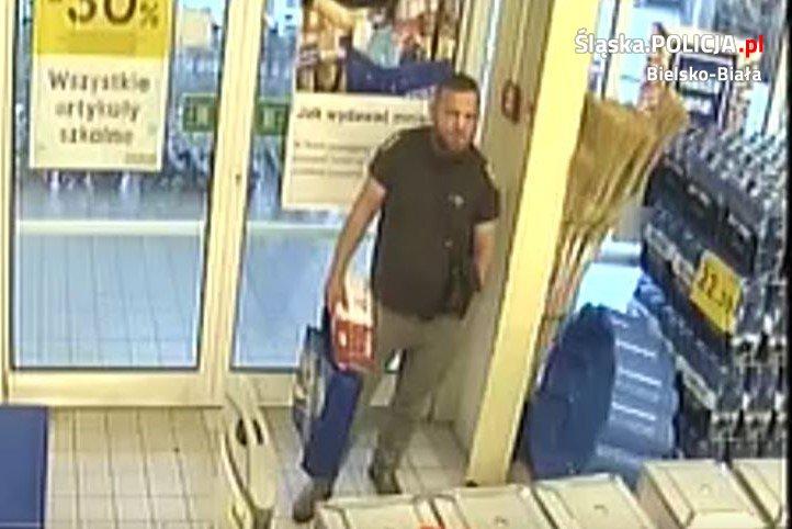 Policja publikuje wizerunek złodzieja