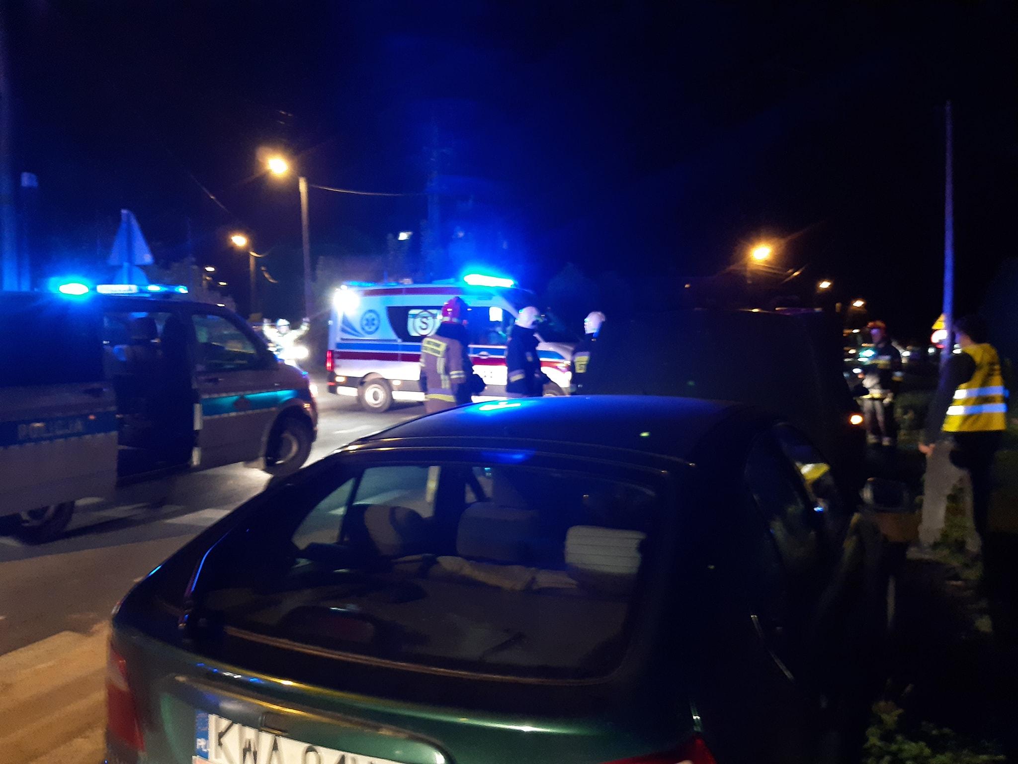 Jedna osoba poszkodowana w wypadku w Czańcu