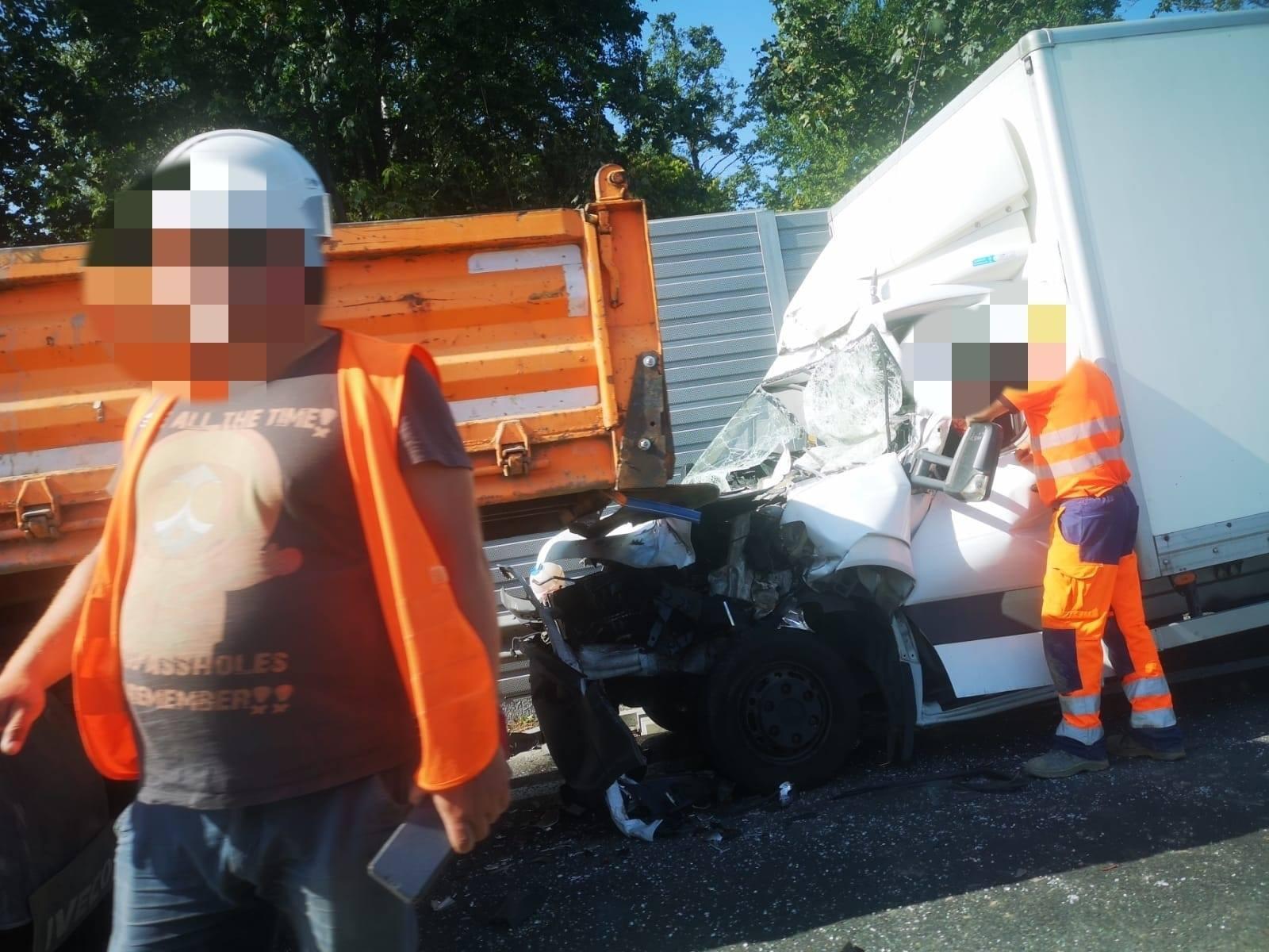 Poważny wypadek na krajówce w Czechowicach-Dziedzicach