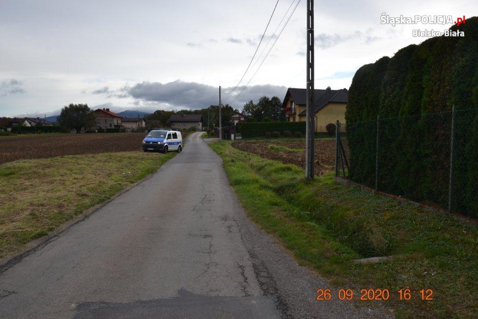 Bielska policja poszukuje świadków wypadku drogowego
