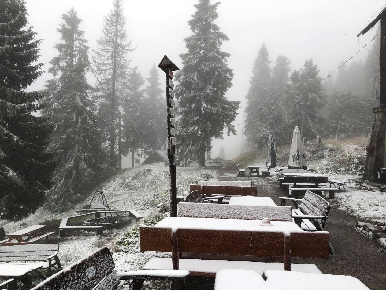 W górach spadł pierwszy tej jesieni śnieg