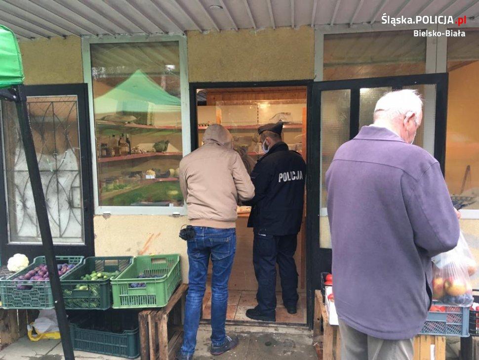 Bielsko-Biała: ponad 100 osób ukaranych za brak maseczki