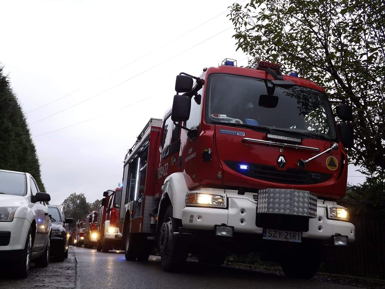 8-latek zaalarmował strażaków o pożarze