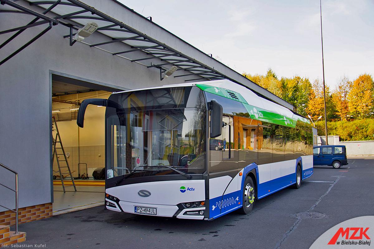Kolejny elektryczny autobus na bielskich ulicach