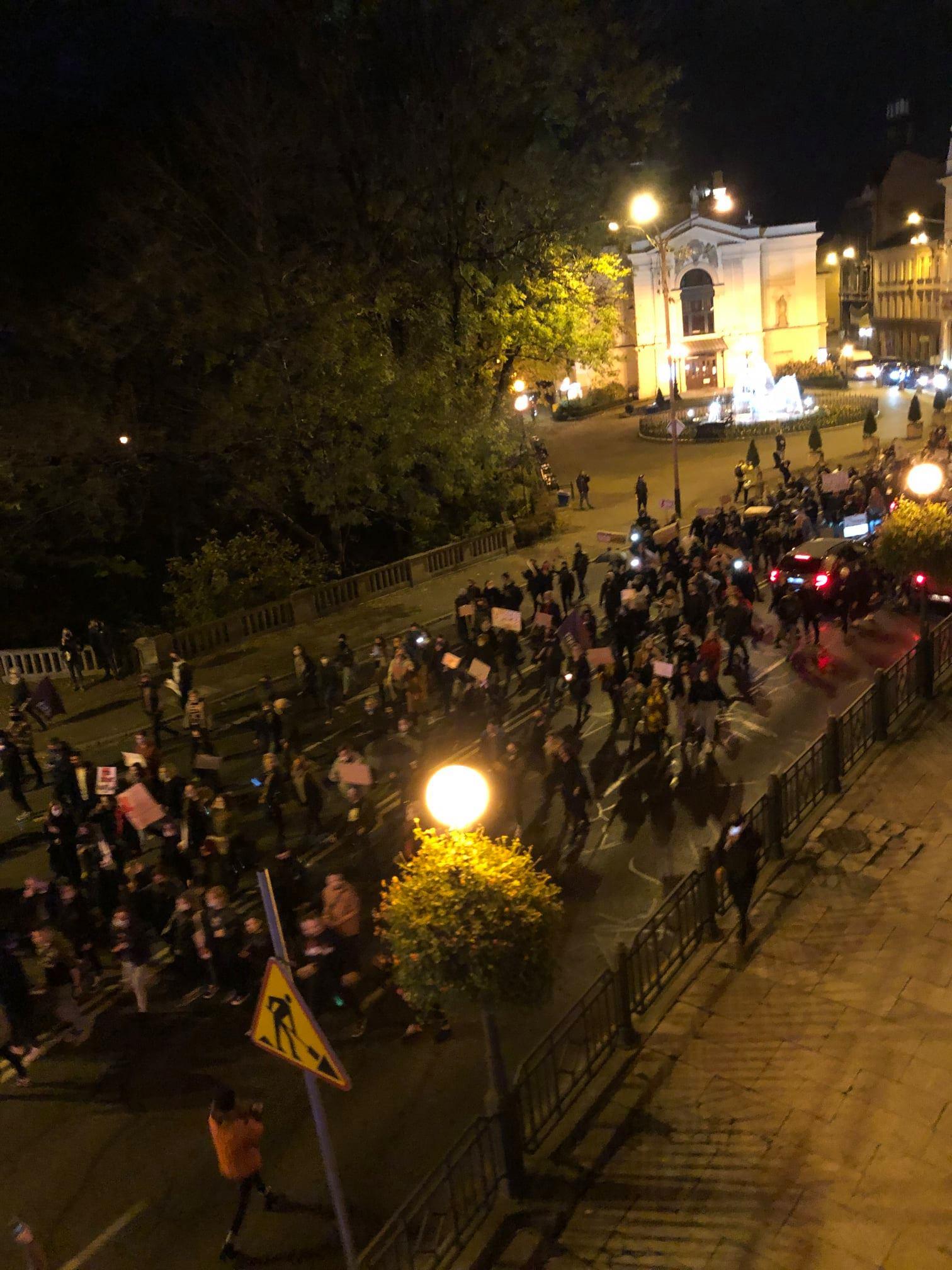 Bielskie protesty przybierają na sile