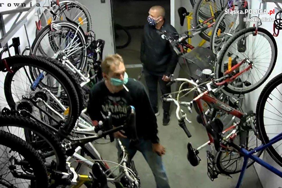 Złodzieje rowerów poszukiwani