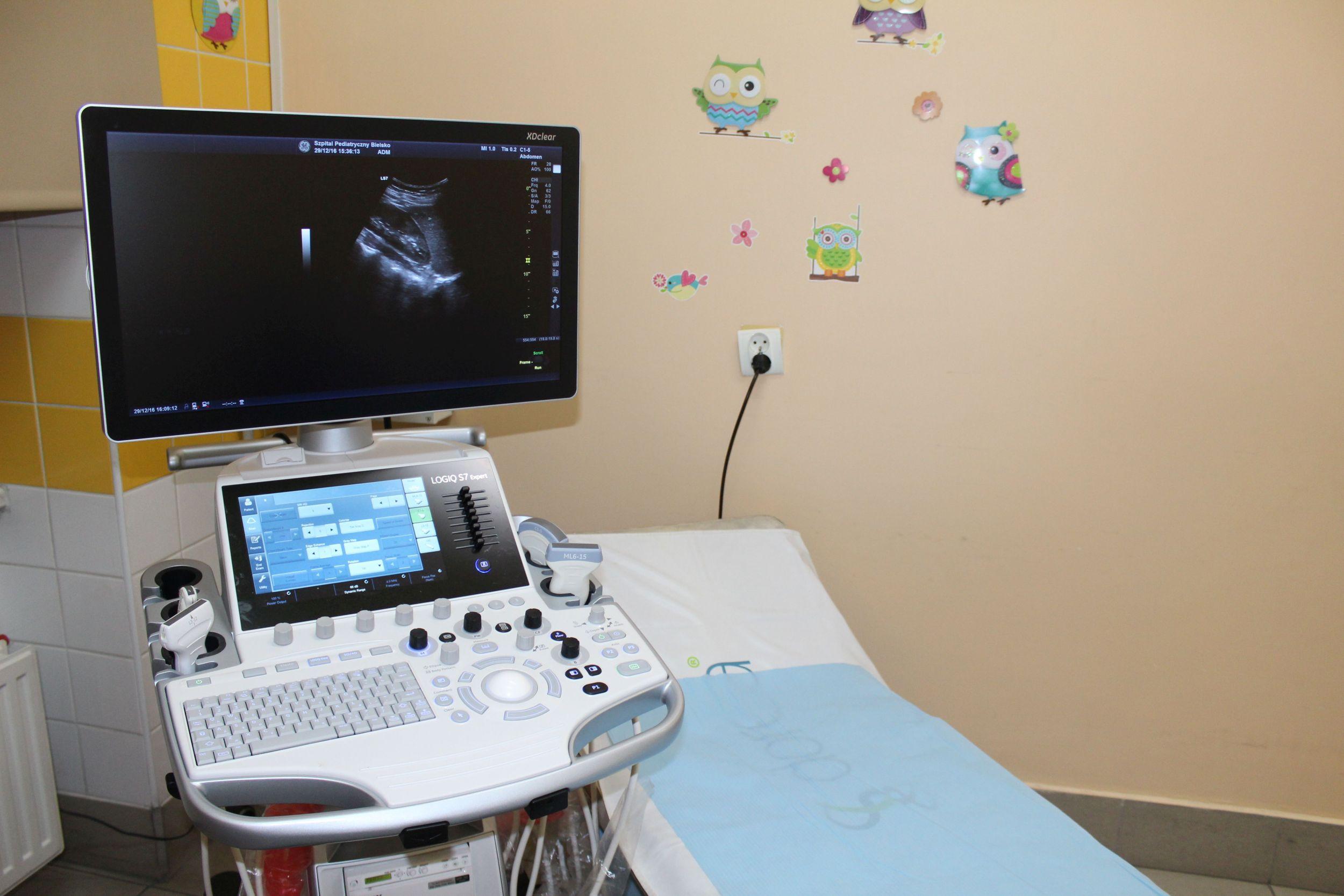 W bielskim dziecięcym szpitalu badają także dorosłych