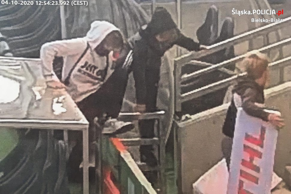 Młodzi wandale poszukiwani przez bielską policję