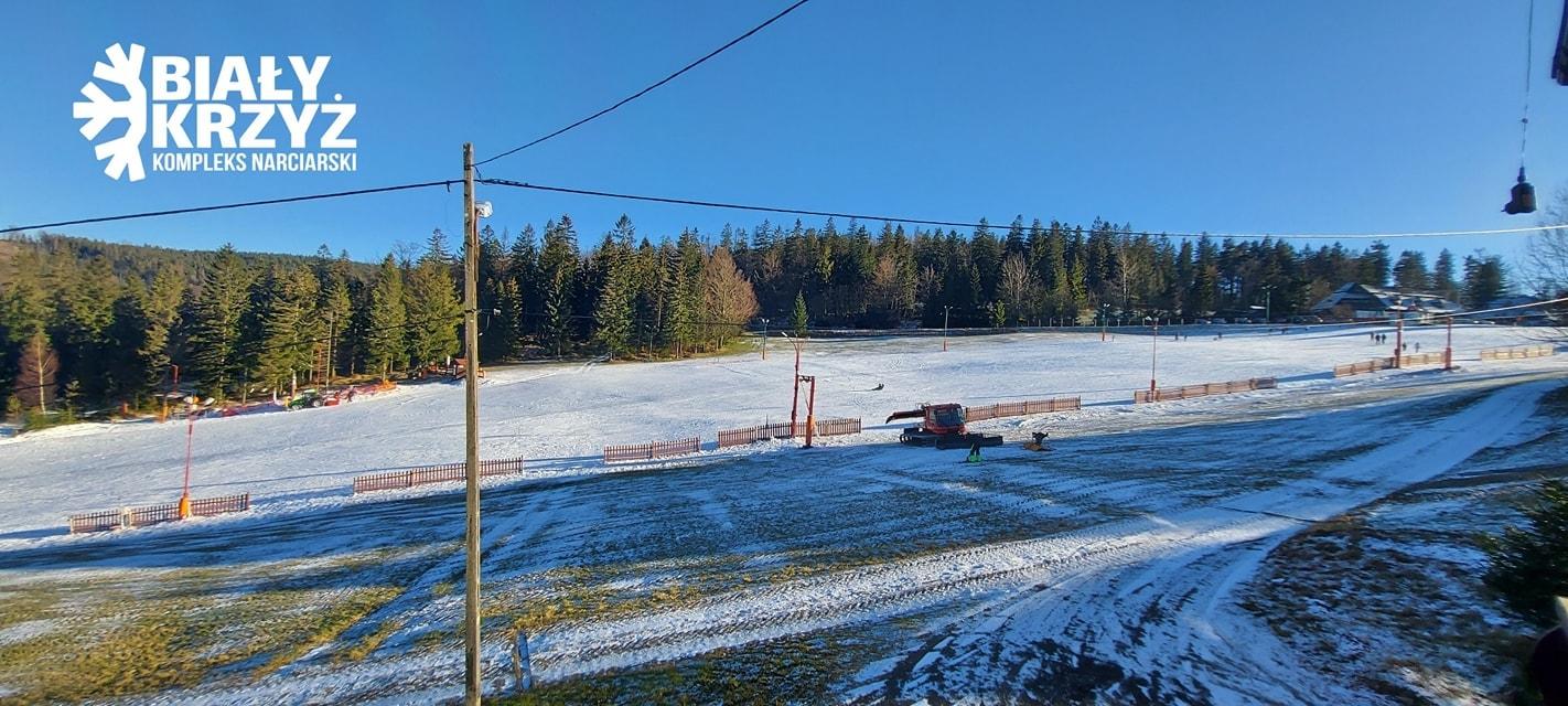 Pierwszy wyciąg narciarski już działa!
