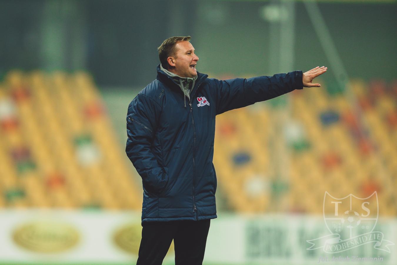 Podbeskidzie zmienia trenera