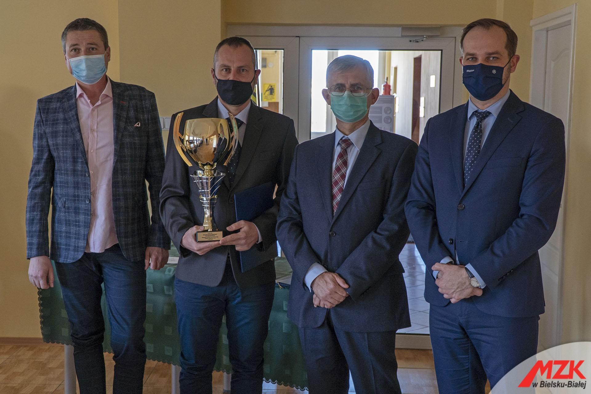 Nagrody dla pracowników MZK