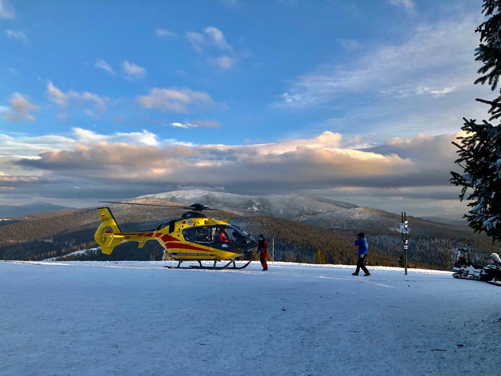Kilka akcji ratowniczych w górach