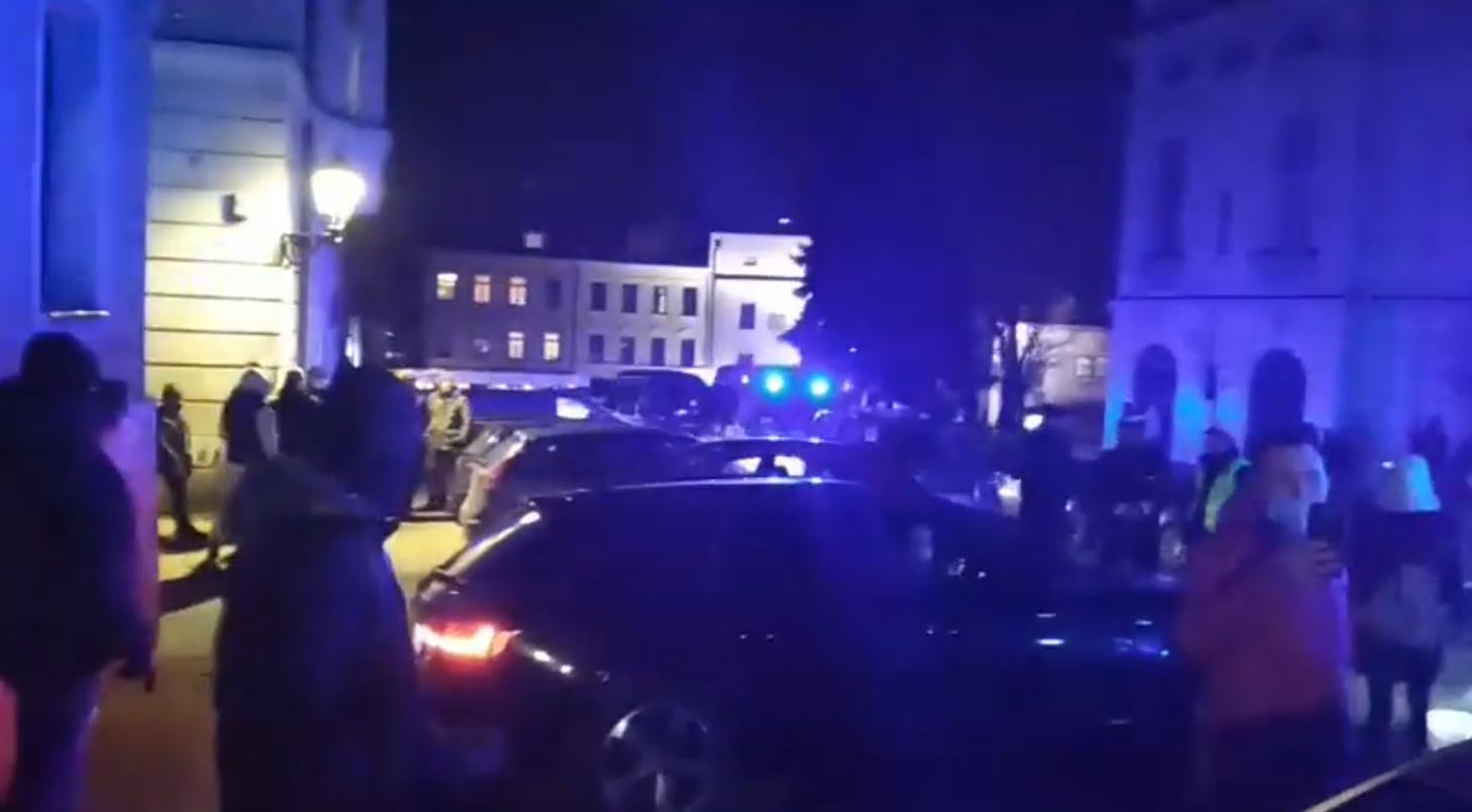 Stanowisko policji w sprawie akcji w restauracji w Cieszynie