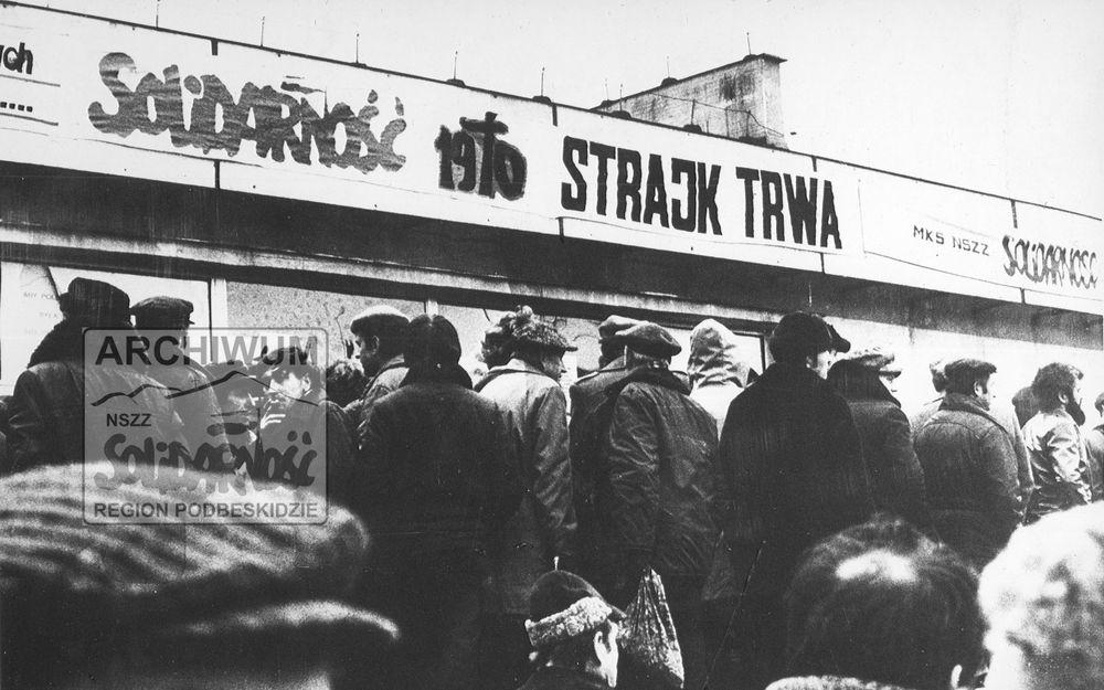40 lat temu rozpoczął się strajk generalny na Podbeskidziu