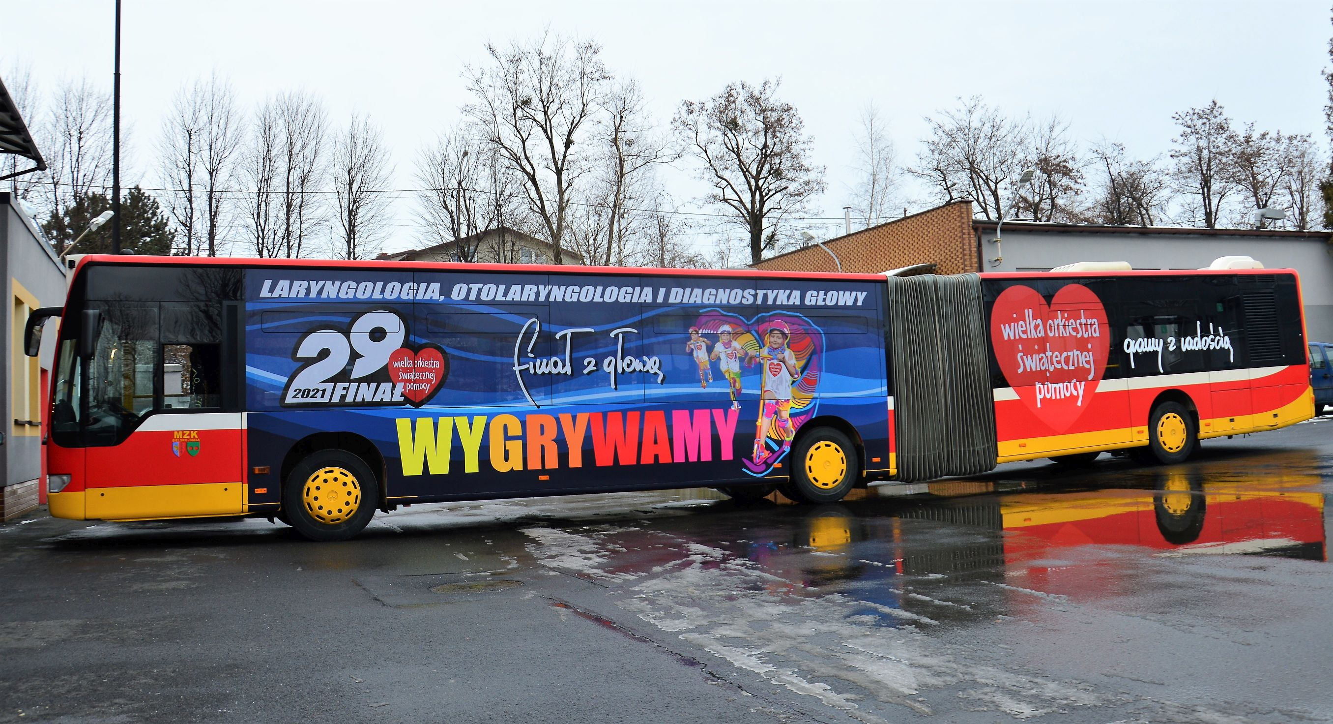 WOŚP-owy autobus wyjedzie na bielskie ulice