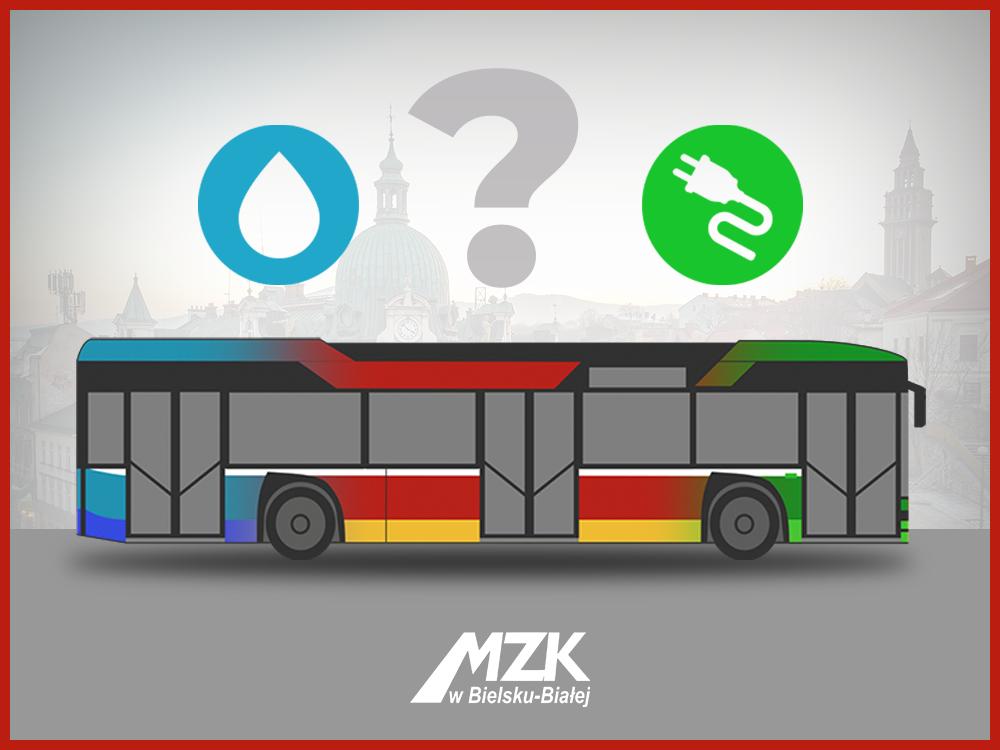 Bielskie autobusy na prąd czy na wodór?
